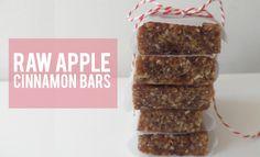 Raw Apple Cinnamon Bars