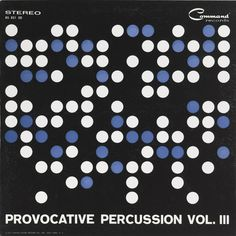 Josef Albers,  cover art for Provocative Percussion, Vol. III, 1961. Josef Albers. Off-set lithograph on white wove paper, gate-fold cardboard. Vinyl 331/3 RPM. USA. Via Cooper Hewitt.
