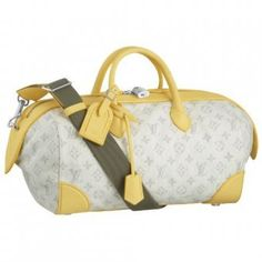Louis Vuitton Monogram Denim Speedy Round