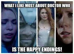 Yeah my favorite thing about Doctor Who would be that too.....IF THERE WERE ANY!!!!
