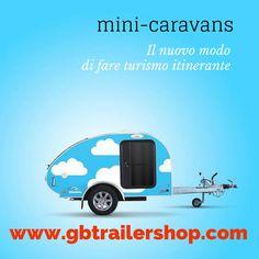 13° Salone del turismo itinerante e sostenibile. Gbtrailers sarà presente con i Mini-caravans. Teardrops che passione!