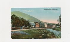 vintage postcard of Leithen Road, Innerleithen, Scotland, 1918 by mudintheUSA on Etsy
