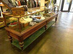 Antieke toonbank winkelvitrine - Bordighera
