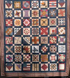 Civil War Quilts: New Groups: Civil War Sampler