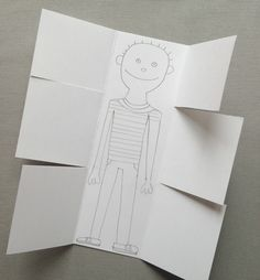 Exquisite Corpse drawing activity