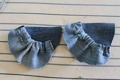 DIY Baby Shoes (recycled from old jeans) | Pretty Prudent