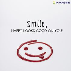 Don't forget to smile today! #inmagine #smile