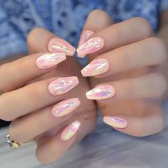 Pink and White Nail Art Designs with Images - Styles Art