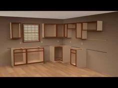 Kitchen Cabinet Installation - YouTube | finD | Pinterest ...