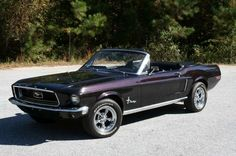 1968 Ford Mustang - my first car! Classic Mustang, Ford Classic Cars, Classic Trucks, Dream Cars, My Dream Car, Ford Mustang Convertible, Planes, Continental, Classic Car Show