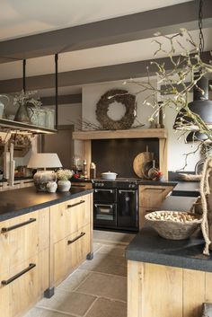 Home Decor Kitchen .Home Decor Kitchen Kitchen Interior, Rustic Kitchen Design, Kitchen Remodel, Kitchen Decor, New Kitchen, House Interior, Home Kitchens, Rustic Kitchen, Kitchen Design