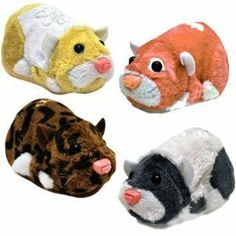 Zhu Zhu Pets Series 4 Set of 4 Hamster Toys Cappuccino, Jinx, Peachy Patches Ltd. by Cepia LLC. $25.47. Make playtime more fun with interactive realistic hamsters. They are artificially intelligent hamsters that talk and move around their habitat.