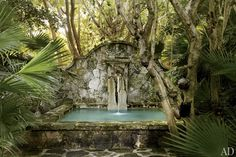 Oscar de La Renta's Lush Garden in the Dominican Republic Photos | Architectural Digest
