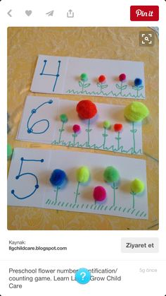 Awesome Incredible Spring Garden Crafts and Activities for Kids homegardenma… - Preschool Children Activities Spring Activities, Toddler Activities, Preschool Activities, Counting Activities, Preschool Pictures, Learning Numbers Preschool, Time Activities, Math Games, Kids Crafts
