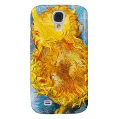 Still Life with Two Sunflowers by Vincent Van Gogh Galaxy S4 Cases