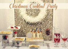 Christmas cocktail party ideas