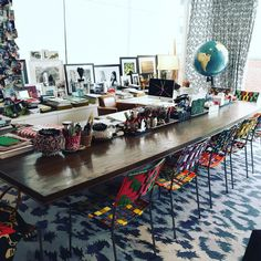 Diane von Furstenberg Has the Chicest Office Ever via @WhoWhatWear