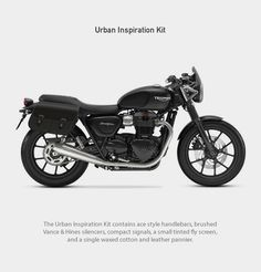 The 2016 Triumph Street Twin is a classic Triumph designed for customization, it features a new 900 cc inline two-cylinder high torque engine with liquid cooling, and sports most of the electronic gadgetry that is incorporated on the other Bonneville