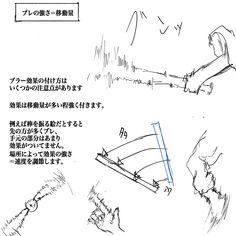 一枚絵でも動いて見えるような表現法 [5]