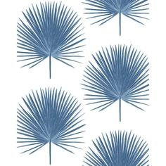 NextWall Palmetto Palm Coastal Peel and Stick Wallpaper 30.75 sq. ft. NW37502 - The Home Depot