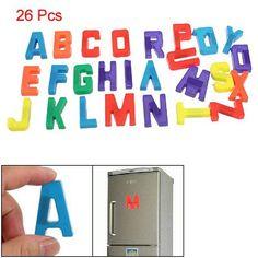 Child Colorful Plastic Magnetic Alphabets Educational Set $5.61