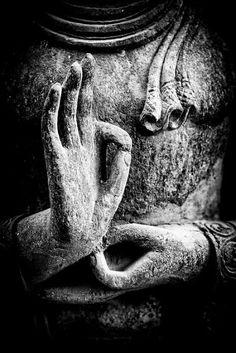 Buddha Canvas Art - Buddha Hand Mudra by Tim Gainey Buddha Wall Art, Buddha Zen, Buddha Painting, Gautama Buddha, Buddha Artwork, Buddha Peace, Black Buddha, Buddha Canvas, Becoming A Buddhist