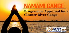 One of the main areas of concern for the newly formed BJP government at the centre was how to protect River Ganga from getting further polluted. Read more: http://www.jobreset.com/blog/flagship-namami-gange-programme-approved-cleaner-river-ganga/