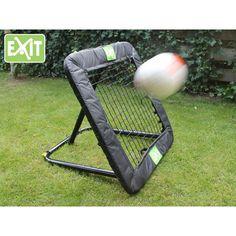 Exit Kickback Rebounder jalkapalloon M-koko Pvc, Rebounding, Football, Golf Clubs, Goals, Sports, Note, Kid, Handball