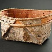 Image result for birch bark basket template