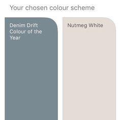 Risultati immagini per dulux nutmeg white and denim drift Dulux White Paint, Dulux Paint Colours, Bedroom Paint Colors, Paint Colors For Home, Dulux Denim Drift Bedroom, Denim Drift Living Room, Denim Drift Dulux Paint, Houses, Atelier