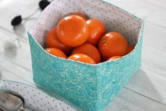 How to Sew DIY Fabric Storage Boxes | eHow