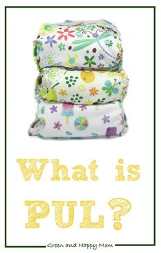 We all know PUL as a waterproof layer often found in cloth diapers and menstrual products but what is PUL exactly? Natural Parenting, Happy Mom, Raising Kids, Cloth Diapers, Bags, Handbags, Disciplining Children, Kids Discipline, Parenting