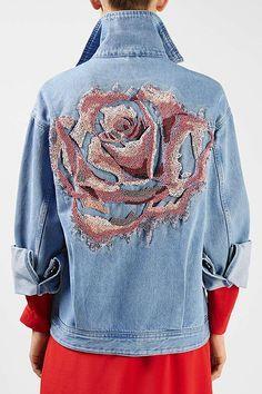 Мобильный LiveInternet Многообразный декор джинсовых курток | О_Самом_Интересном - Все самое интересное |