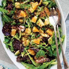 This Citrus Salad Recipe Uses Toasted Quinoa for Added Crunch