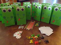 City Teacher Goes Country: Frog Themed Birthday Party