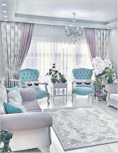 top 10 luxury living rooms ideas interior decor – Home Trends 2020 Glam Living Room, Living Room Decor Cozy, Interior Design Living Room, Home And Living, Living Room Designs, Luxury Interior Design, Hall Curtains, Sofa Set, Luxury Living