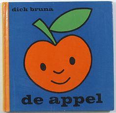 er lag een dikke ronde appel // midden in het groene gras. // die dikke ronde appel huilde // omdat hij maar een appel was.