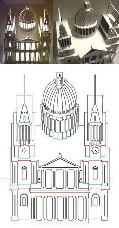 Otro rato entretenido podemos pasarlo construyendo este magnífico edificio.: