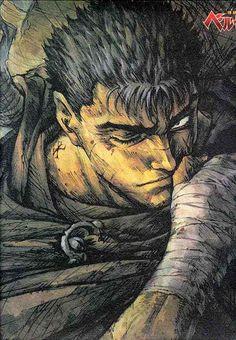 Berserk, a seinen manga by Kentaro Miura. One of the many main characters: Gatsu.