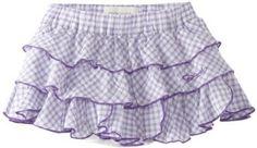 Diesel Baby-Girls Infant Giukisb Gingham Ruffle Skirt, Lavender, 12 Months Diesel. $36.75