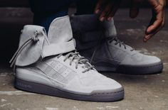 in stock 0c69f 89668 The adidas Forum Hi Gets Hit With Moccasin Detailing