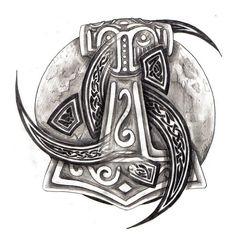 Resultado de imagen de nordic tattoos