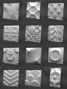 Buy Gypsum Panels Collection by SpaceExpert on Gypsum Panels Collection, 12 unique panel. For interior or exterior visualisation. Textured Wall Panels, Decorative Wall Panels, 3d Wall Panels, 3d Wall Tiles, Wall Tiles Design, 3d Wandplatten, Gypsum Wall, 3d Wall Decor, False Ceiling Design