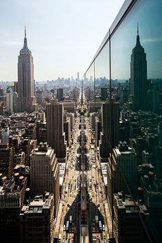 NYC Landscape Reflection