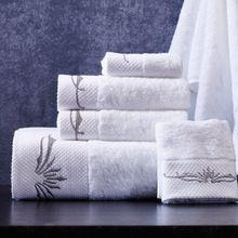 De alta Qualidade Bordado 3 pcs Hotel de Golfe Viagem Praia do Banho Conjunto de toalhas Para Adultos Banheiro Presente Lençóis de Banho Toalhas De Banho Com Duche conjuntos(China (Mainland))