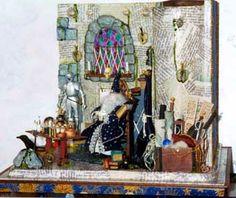 Miniatures Dollhouse Fantasy   Dollhouse Miniature Friends – Sorcerer's Spellbook