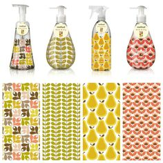 Method's limited edition collaboration with pattern maker Orla Kiely is now availableinTarget stores nationwide. #retro