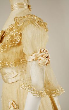 Evening dress (detail) Jacques Doucet (French, Paris 1853–1929 Paris)  Date: 1906–7 (Metropolitan Museum)