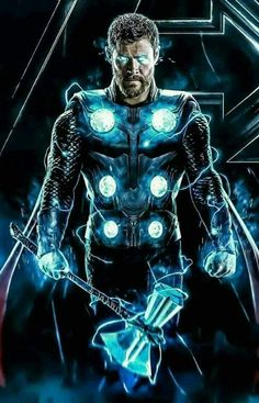 The Avengers Thor Most Popular Characters Photo collection And Awesome Wallpapers by WAOFAM. Marvel Dc Comics, Marvel Avengers, Marvel Fanart, Heros Comics, Marvel Heroes, Iron Man Avengers, Mundo Marvel, Superhero Poster, Thor Superhero