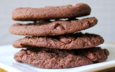 Chocolate Cookie Recipes, Chocolate Chip Cookies, Peanut Butter Cookies, Sugar Cookies, Healthy Biscuits, Dessert Recipes, Desserts, Baking Tips, Sweet